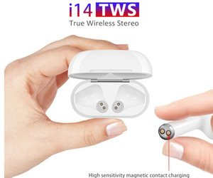 i14 TWS Headphones Wireless Bluetooth 5.0 Earphone Earbuds for iPhone X MAX 8 Plus android Samsung S10 S9 PK I7S I9S I11 I12