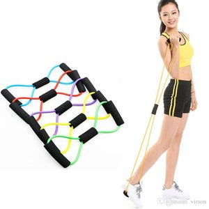 Resistance Bands 8 Shaped Fitness Elastic Rubber Loops Latex Pull Rope Sports Rubber Expander Band Yoga Pilates Fitness Belt