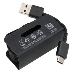 USB 3.1 نوع C S10 كابل الخط 1.2M شحن سريع لسامسونج غالاكسي S9 S10 زائد XIAOMI Redmi ملاحظة 10 9 برو الهاتف المسؤول الحبل