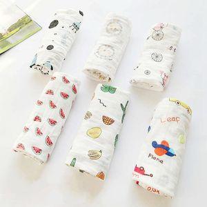 Bebek Banyosu Havlu Karikatür Bebek Battaniye Kundaklama Wrap Battaniye Yatak Yaz İnce Saf Pamuk Çift Katlı Düz Dokuma 5 5mm D2