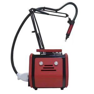 Taşınabilir picolaser q, üç dalga boyu 1064nm / 532nm / 1320nm lazer makinesi ile nd yag laserpermanently dövme kaldırma anahtarlı