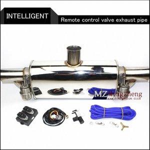"""2.5"""" Exhaust Exhaust System Stainless Steel T da tubulação elétrica recorte Fora válvula com eletrônica Remote Control Mudar tubo uUMw #"""