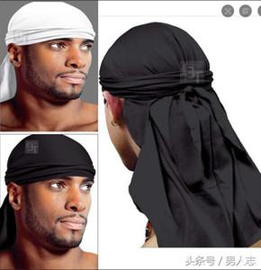 Designer Durag fascia Cappello pirata Bandane per uomini e donne molti disegni Silky Durags Du-Rag Bandana headwraps Cappelli Hip hop testa Wraps