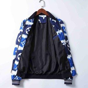 2020 Hot Style Designer Men Jacket Winter Luxury Zipper Jacket Fashion Pattern Print Slim Fit Windbreaker Mens Winter Outdoorwear M-3XL