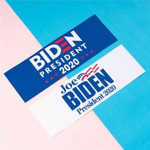 Yeni 45 * 15cm Joe Biden Afişler 2020 Biden Cumhurbaşkanı Seçimi Banner Beyaz Mavi Sigara Dokuma Amerika Bayraklar Banner Toptan DBC BH3907