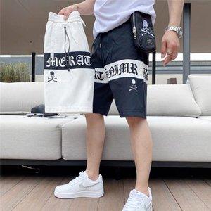 2020 Caviglia-lunghezza bicchierini della spiaggia dei pantaloni degli uomini di estate pantaloni sottili tagliate Shorts beach utensili confortevoli