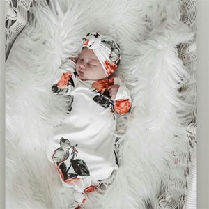 2016 Newborn Baby Swaddle Blanket Wrap Knit Unisex Baby Girls Boys Soft Sleeping Bag Stroller Wrap For 0 6 Month Baby Shower Gifts PjdSy