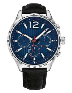 New men's Designer Chronograph Tachymeter leather strap Watch Tom1791467+1791468+1791470