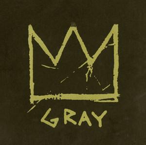 Jean Michel Basquit Warhol arte abstracto gris Corona Decoración Artesanías / impresión de HD pintura al óleo sobre lienzo arte de la pared de la lona representa 3067