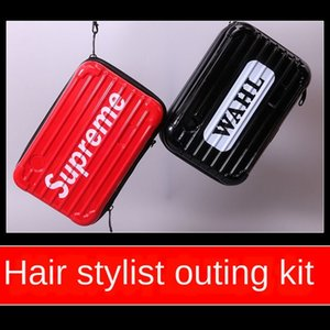 Internet red electric scissors comb clip hairdressing tools hair stylist Storage bag tool Scissors tool portable tools storage bag