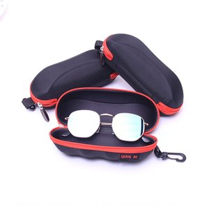New fashion sun case case Storage travel portable anti-pressure glasses storage box universal hook type glasses box for men and women