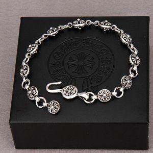 Coeur Croix Bracelet Ins Hommes Dominatrice Mode coréenne Étudiantes Couples simples Bracelet Does Not Fade