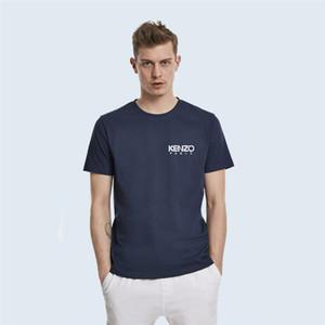 New KENZO Paris vêtements de mode hommes Designer marque femmes T-shirts manches courtes costume été chemises blanches polos desserrées tees-tops 5XL