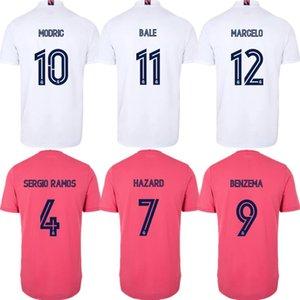 Real Madrid Sergio Ramos Jersey di calcio 2020 21 Vinicio JR. camicia JAMES BALE MARCELO ISCO ASENSIO Kroos PERICOLO DI BENZEMA MODRIC Calcio