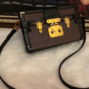 saco de luxo partido couro verdadeiro saco de moda pequena bagagem bolsa de ombro caso bolsa das mulheres