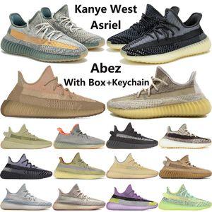 2020 mens West New kanye zapatos Abez Asriel Eliada oreo de azufre ceniza ropa sabio del desierto zyon hombres reflexivos formadoras zapatillas de deporte corrientes
