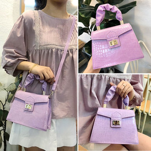 Cross Body Bag High Quality Fashionable Shoulder Tote Package Simple And Versatile Handbag Textured Pop Small Square Package Free Shipping