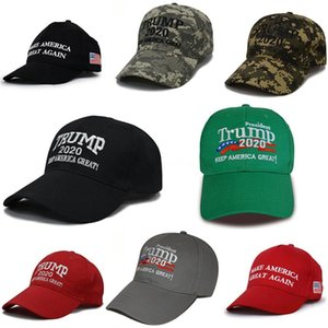 21 Styles Donald Trump Baseball Hat 2020 USA Keep America Great Adjustable Snapback Outdoor Sport Ball Cap DDA156