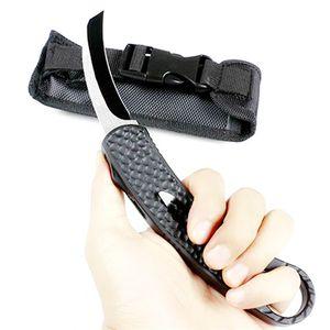 new krambit double action tactical self defense folding edc knife camping knife hunting knives xmas gift pocket tool