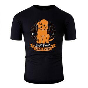 New Summer Doodle Dog Goldendoodle Golden Retriever Poodle Tshirt 2019 Kawaii Fashion Mens T Shirt Fitness O Neck Hiphop Top