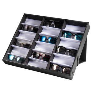 18 sunglasses storage box glasses display storage box tray counter style display sunglasses display rack home storage box