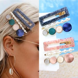 3pcs Set Hairpin Hair Clip Hairband Bobby Pin Barrette Headdress Accessories Beauty Styling Tools for Women Girls Sweet Hairpins Barrettes