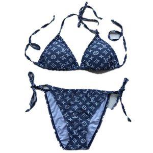 Verano mujer marca bikini traje de baño moda diseñador de moda traje de baño marca marca más tamaño bikini traje de baño sexy niña playa traje traje de baño 281 udbd