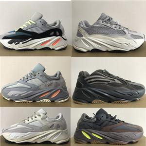 2020 scarpe di qualità corsa 700 delle scarpe da tennis corridore dell'onda Kanye West carbonio blu V2 Tephra Raffles utilità nero statici Mens delle donne di sport scarpe da tennis