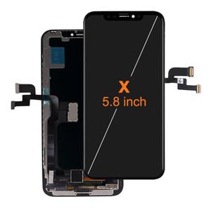 ل iPhone X XS XSMAX OLED شاشة LCD عرض لمس التحويل الرقمي الجمعية استبدال 100٪ اختبار