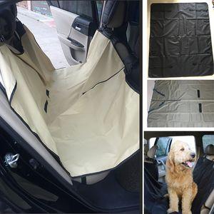 Auto Pet Dog Car Seat Covers Cat Waterproof Car Cushion For Cars Trucks Hammock Convertible Pet Supplies Accessories 145*130cm HH7-1249