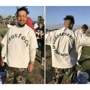 Kanye style de concert Hoodies hommes pull-over Hoodies visage souriant impression Sweat pull ras du cou pour les hommes et les femmes