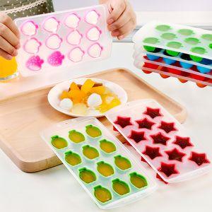 Moldes 드 Silicona 얼음 격자 에폭시 수지 금형 케이크 장식 딸기 오렌지 별 금형 실리콘 비누 금형 보관 1 35jx C2 공급