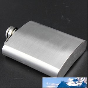 8 Ounce Creative Stainless Steel Flagon Alcohol Whisky Hip Flask petaca Jug Outdoor Portable Bridesmaid Gifts