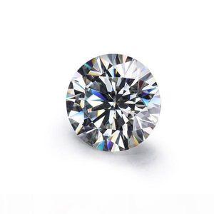 J vendite allentato Moissanites Pietra Ij Colore turno 6 .0mm diamanti taglio brillante Moissanites Syntheti pietra di alta qualità
