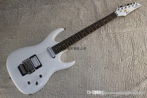 Free Shipping Factory Wholesale High Quality Korean Accessories Ibz JS2400 Joe Satriani White Electric Guitar with Vibrato