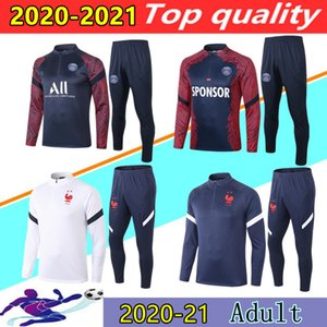 2020 2021 FRANCE MBAPPE long sleeve soccer tracksuit urvetement 20 21 paris ICARDI CAVANI maillot de foot football training suit jogging