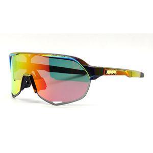 New Spot Outdoor Sports polarisierte einen.Kreislauf.durchmachengläser Fahrradbrille Halbbild-Glas-Sonnenbrille
