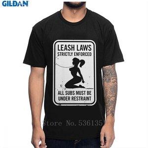 순수 코튼 클래식 여름 반디 BDSM 섹스 가죽 끈 법률 엄격하게 시행 티 셔츠 O-목 옴므 남여 T 셔츠