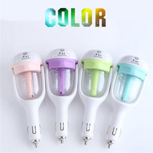Newest USB Car Plug Humidifier Fresh Refreshing Fragrance ehicular essential oil ultrasonic humidifier Aroma mist car Diffuser DHL free ship