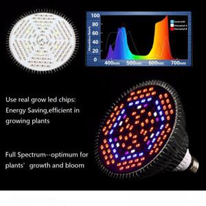 crecimiento de las plantas llevó la iluminación de la lámpara de planta espectro completo 80W PAR38 crece la lámpara crecimiento de las plantas de interior lámpara llevada