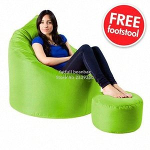 Couverture seulement No Filler en gros personnalisé imprimé Sofa Chaise Sex Sofa Sex Meubles, Repose-pieds Set Bean Meubles Meubles de patio xoAb #