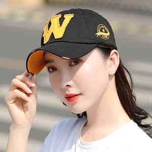 letter W washed and worn Jeans Baseball baseball cap jeans hat summer outdoor sunshade hat men's and women's travel cap