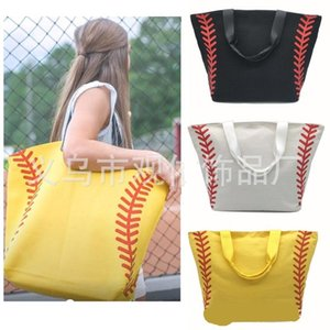 Softball Handbag Sports Canvas Bags Outdoor Simplicity Casual Soccer Basketball Home Storage Single Shoulder Fashion 29gy F1