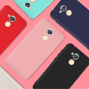 For Huawei Honor 6A 6c Pro Silicone Soft TPU Cover case for huawei Honor 6A 6c Pro Matte Candy solid colors Cover Back Case