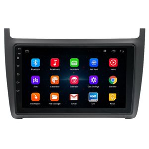 9inch Touch Screen Android 2 Din Car DVD Radio Multimedia Player GPS Navigation for VW POLO 2011-2016 Autoradio