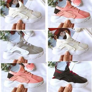 Sale Newborn Huarache Run 4 BABY Youth Running Shoes Boys Girls Air Mesh Trainers Sports Kids Lifestyle Toddler Children New Born C