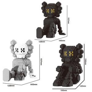 1380pcs Building Blocks Garage Kit Mode Cartoon Characters Bibliothèque Décoration 16,5 * 12 * 10 (cm) Moyen Taille trottinettes décoratif