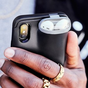 Storage Of Wireless Headphones Unified Protective Compatible For IPhone And AirPods Storage Phone Case Protect shell Shockproof