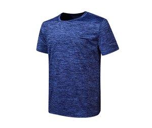 High Quality Cheap Men T Shirt Cotton Blend Plain Blank T-shirt Short Sleeve Tshirts