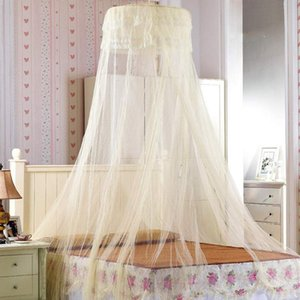 1.8m Hanging Kids Baby Bedding Dome Bed Canopy Mosquito Net Home Princess Bedcover Curtain For Baby Kids Pest Control Reject Net